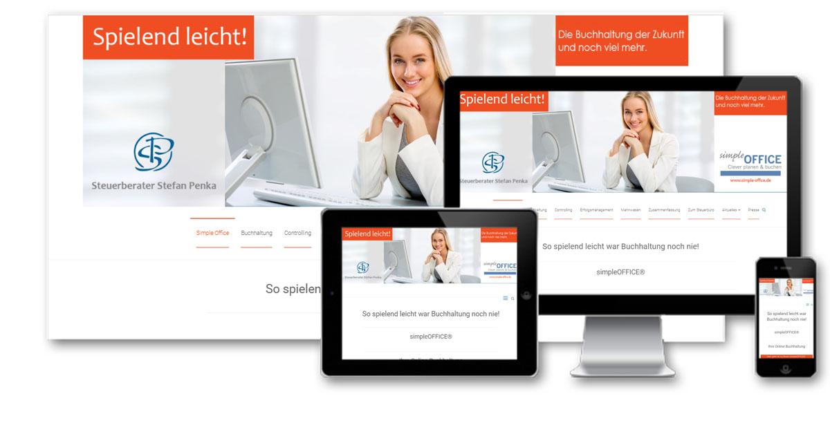 Dienstleistung, Webdesign